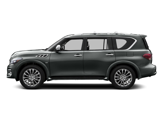 Graphite Shadow 2015 INFINITI QX80 Pictures QX80 Utility 4D 2WD V8 photos side view