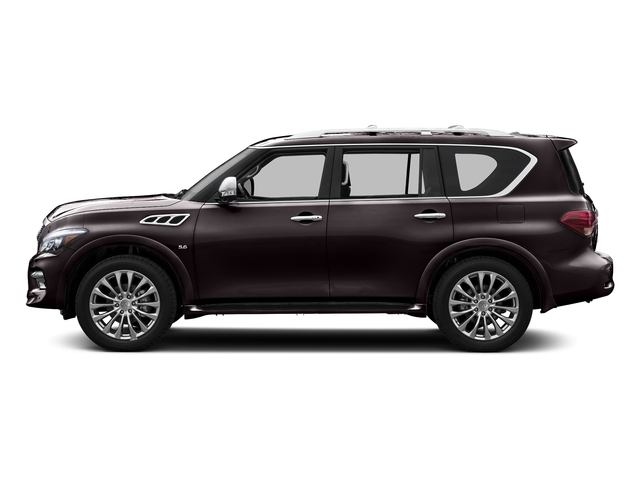 Dark Currant 2015 INFINITI QX80 Pictures QX80 Utility 4D 2WD V8 photos side view