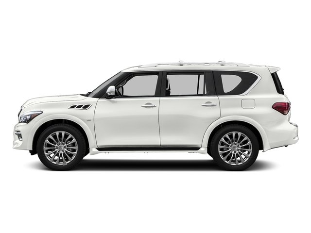 Majestic White 2015 INFINITI QX80 Pictures QX80 Utility 4D 2WD V8 photos side view