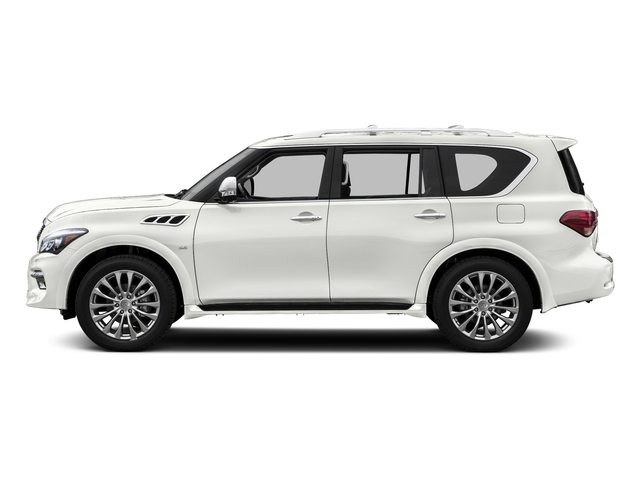 Majestic White 2015 INFINITI QX80 Pictures QX80 Utility 4D AWD V8 photos side view
