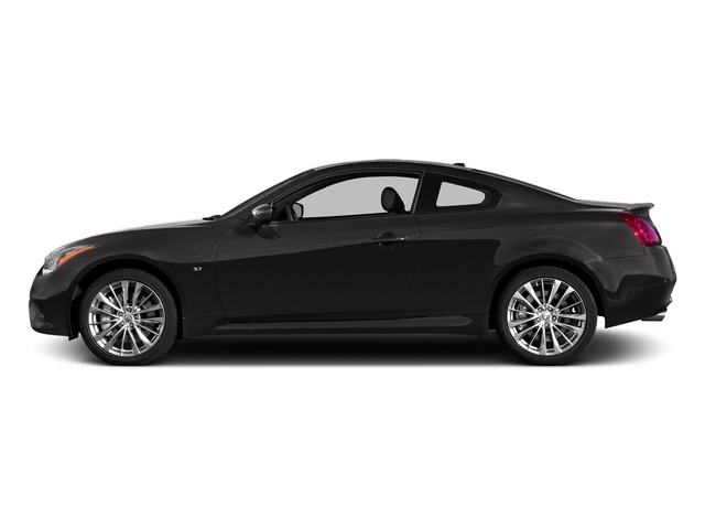Malbec Black 2015 INFINITI Q60 Coupe Pictures Q60 Coupe 2D V6 photos side view