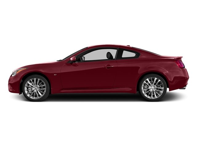 Venetian Ruby 2015 INFINITI Q60 Coupe Pictures Q60 Coupe 2D V6 photos side view