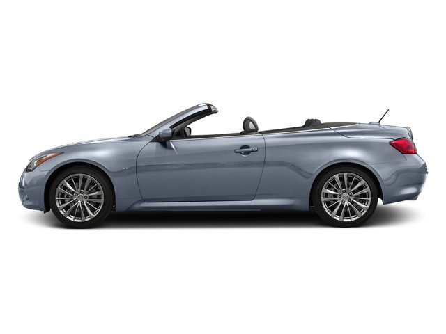 Hagane Blue 2015 INFINITI Q60 Convertible Pictures Q60 Convertible Convertible 2D Sport V6 photos side view