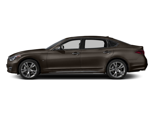 Chestnut Bronze 2015 INFINITI Q70L Pictures Q70L Sedan 4D LWB AWD V6 photos side view