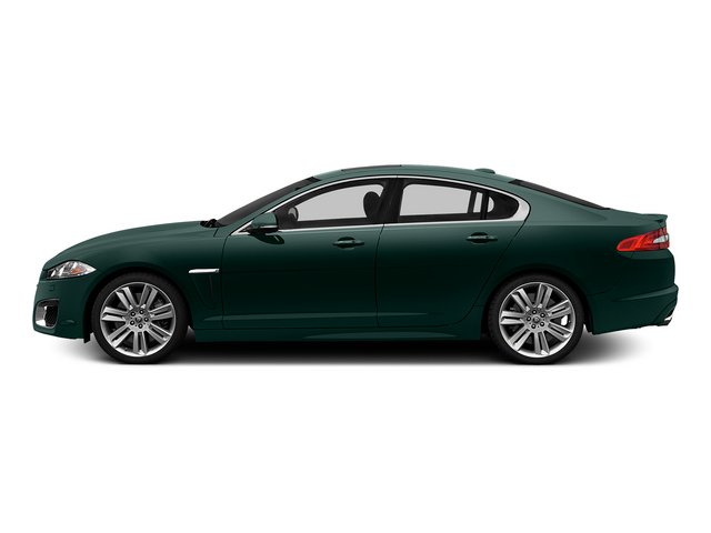 British Racing Green 2015 Jaguar XF Pictures XF Sedan 4D XFR V8 Supercharged photos side view