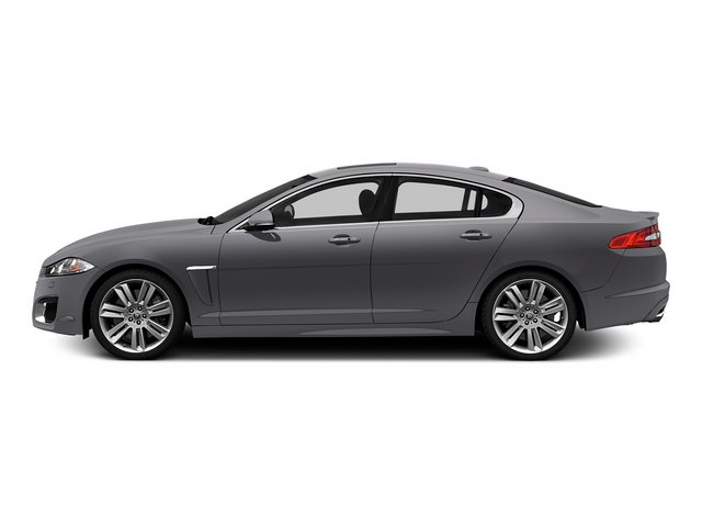 Lunar Gray Metallic 2015 Jaguar XF Pictures XF Sedan 4D XFR V8 Supercharged Speed photos side view