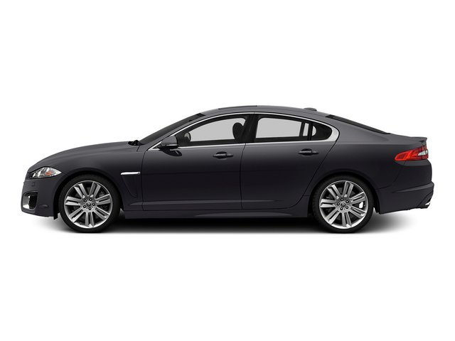 Stratus Gray Metallic 2015 Jaguar XF Pictures XF Sedan 4D XFR V8 Supercharged photos side view