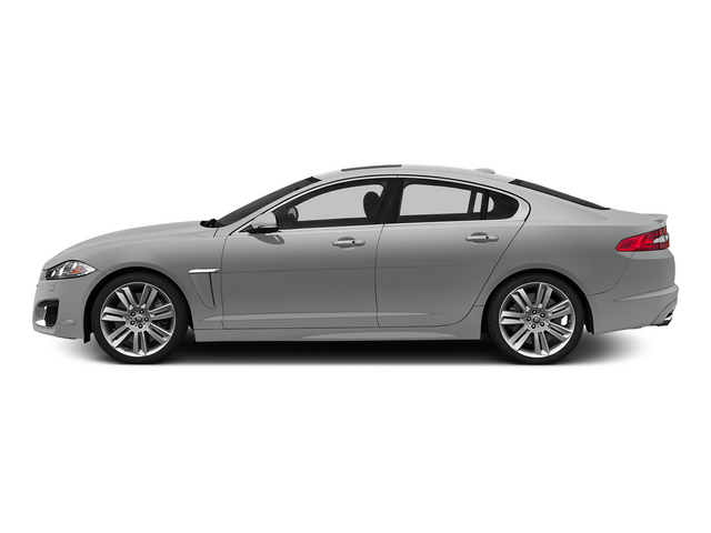 Rhodium Silver Metallic 2015 Jaguar XF Pictures XF Sedan 4D XFR V8 Supercharged photos side view