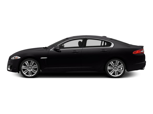 Ultimate Black Metallic 2015 Jaguar XF Pictures XF Sedan 4D XFR V8 Supercharged Speed photos side view
