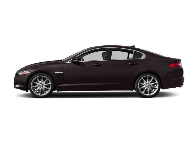 Caviar Metallic 2015 Jaguar XF Pictures XF Sed 4D Portfolio AWD V6 Supercharged photos side view