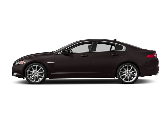 Caviar Metallic 2015 Jaguar XF Pictures XF Sedan 4D Portfolio V6 Supercharged photos side view