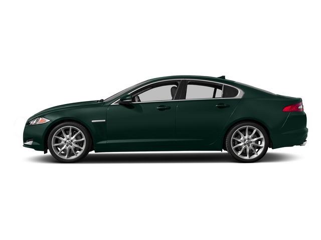 British Racing Green 2015 Jaguar XF Pictures XF Sedan 4D Portfolio V6 Supercharged photos side view