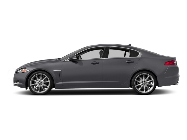 Lunar Gray Metallic 2015 Jaguar XF Pictures XF Sed 4D Portfolio AWD V6 Supercharged photos side view