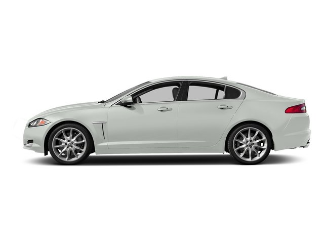 Polaris White 2015 Jaguar XF Pictures XF Sedan 4D Portfolio V6 Supercharged photos side view