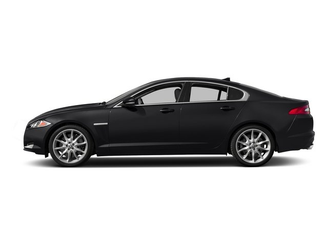 Ebony 2015 Jaguar XF Pictures XF Sedan 4D Portfolio V6 Supercharged photos side view