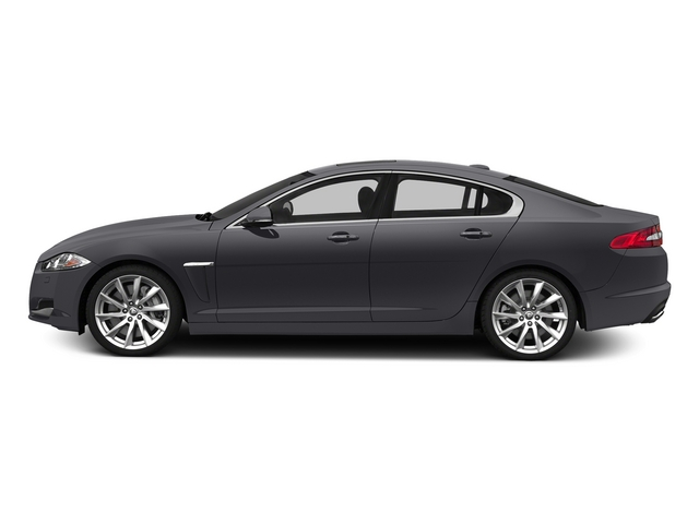 Stratus Gray Metallic 2015 Jaguar XF Pictures XF Sedan 4D V8 Supercharged photos side view