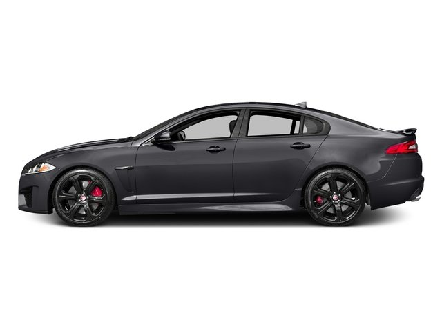 Stratus Gray Metallic 2015 Jaguar XF Pictures XF Sedan 4D XFR-S V8 Supercharged photos side view