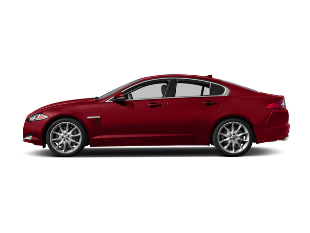 Italian Racing Red 2015 Jaguar XF Pictures XF Sedan 4D Sport V6 Supercharged photos side view
