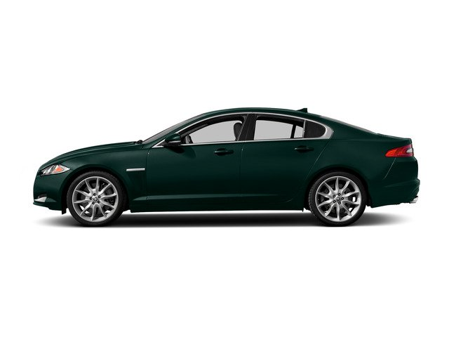 British Racing Green 2015 Jaguar XF Pictures XF Sedan 4D Sport V6 Supercharged photos side view