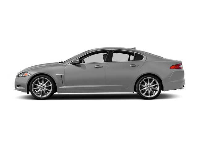 Rhodium Silver Metallic 2015 Jaguar XF Pictures XF Sedan 4D Sport V6 Supercharged photos side view