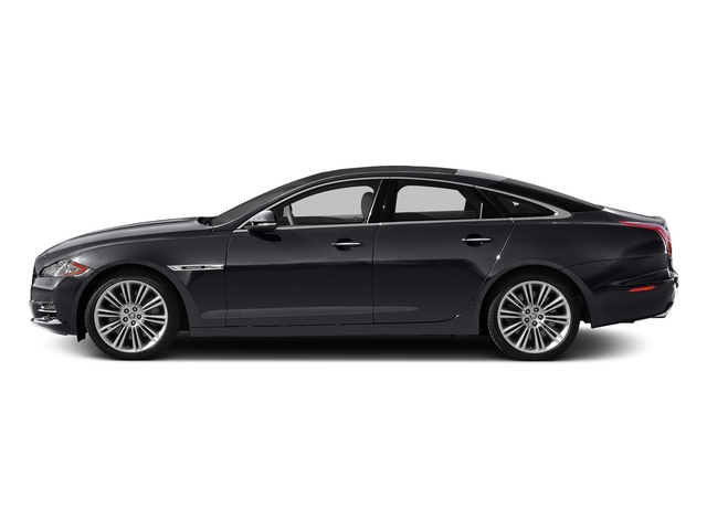 Stratus Gray Metallic 2015 Jaguar XJ Pictures XJ Sedan 4D V6 photos side view