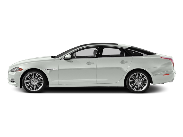 Polaris White 2015 Jaguar XJ Pictures XJ Sedan 4D V6 photos side view