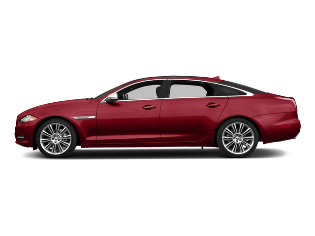 Italian Racing Red 2015 Jaguar XJ Pictures XJ Sedan 4D L Supercharged Speed V8 photos side view