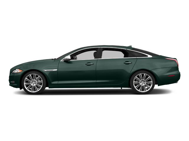 British Racing Green 2015 Jaguar XJ Pictures XJ Sedan 4D L Supercharged Speed V8 photos side view