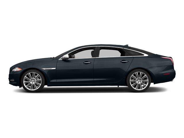 Dark Sapphire Metallic 2015 Jaguar XJ Pictures XJ Sedan 4D L Supercharged Speed V8 photos side view