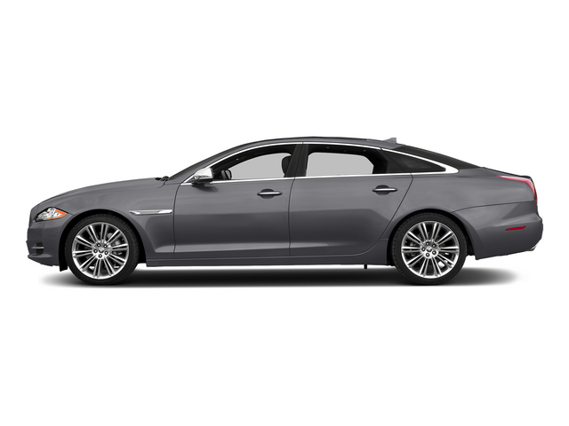 Lunar Gray Metallic 2015 Jaguar XJ Pictures XJ Sedan 4D L Supercharged Speed V8 photos side view