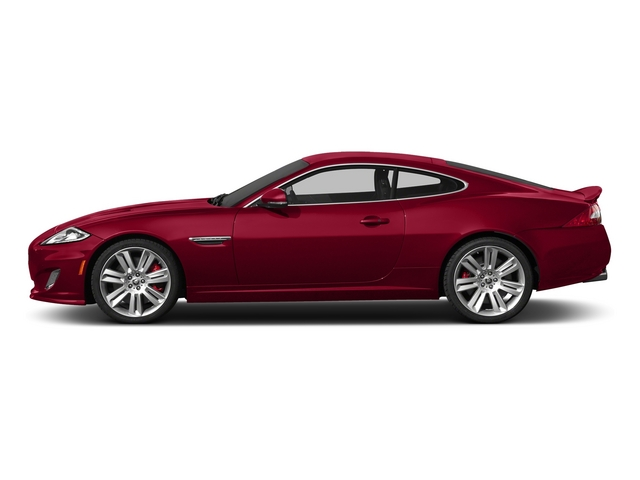 Carnelian Red Metallic 2015 Jaguar XK Pictures XK Coupe 2D XKR V8 Supercharged photos side view