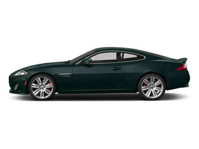 British Racing Green 2015 Jaguar XK Pictures XK Coupe 2D XKR V8 Supercharged photos side view