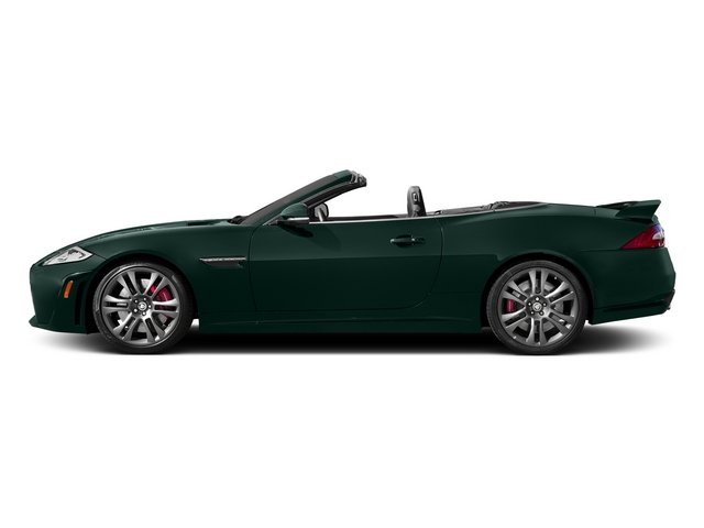 British Racing Green 2015 Jaguar XK Pictures XK Convertible 2D XKR-S V8 Supercharged photos side view