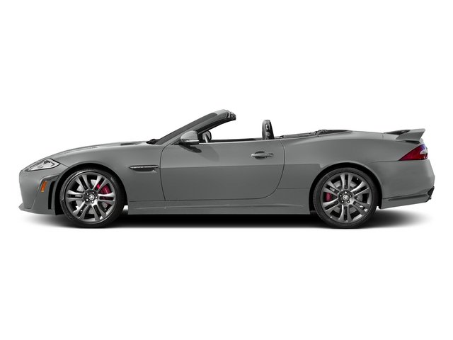 Rhodium Silver Metallic 2015 Jaguar XK Pictures XK Convertible 2D XKR-S V8 Supercharged photos side view