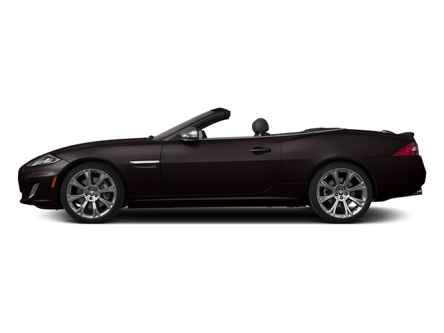 Caviar Metallic 2015 Jaguar XK Pictures XK Convertible 2D XKR V8 Supercharged photos side view
