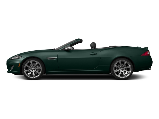 British Racing Green 2015 Jaguar XK Pictures XK Convertible 2D XKR V8 Supercharged photos side view