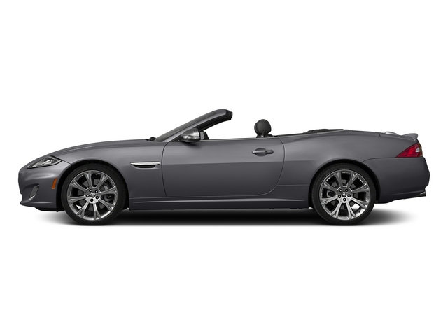 Lunar Gray Metallic 2015 Jaguar XK Pictures XK Convertible 2D XKR V8 Supercharged photos side view