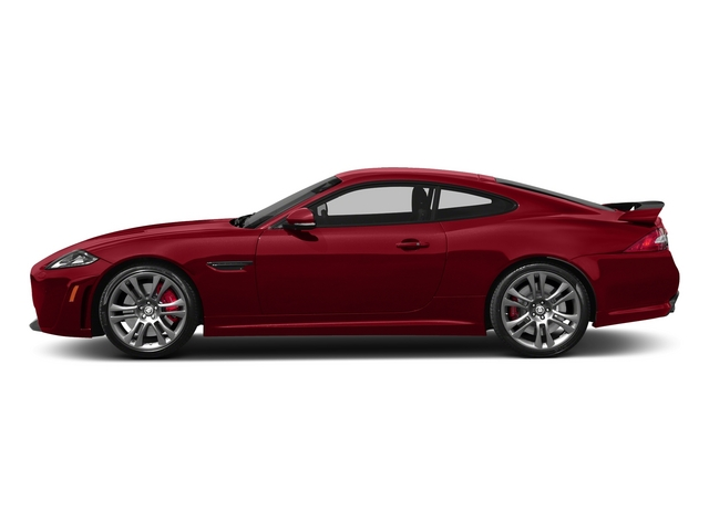 Italian Racing Red 2015 Jaguar XK Pictures XK Coupe 2D XKR-S V8 Supercharged photos side view