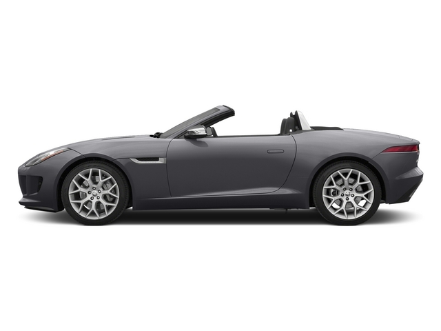 Lunar Gray Metallic 2015 Jaguar F-TYPE Pictures F-TYPE Convertible 2D V6 photos side view