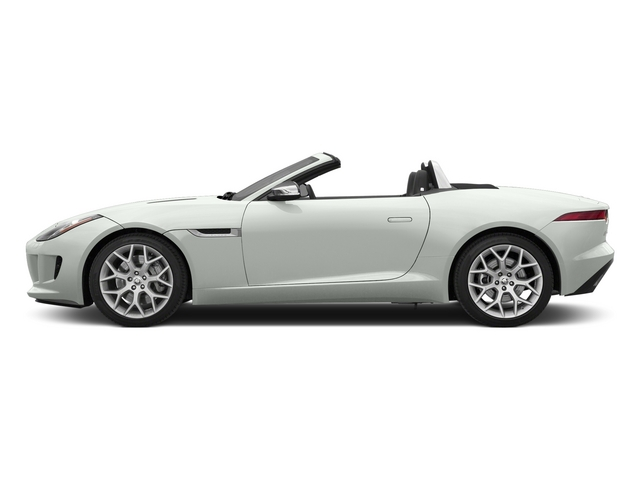 Polaris White 2015 Jaguar F-TYPE Pictures F-TYPE Convertible 2D V6 photos side view