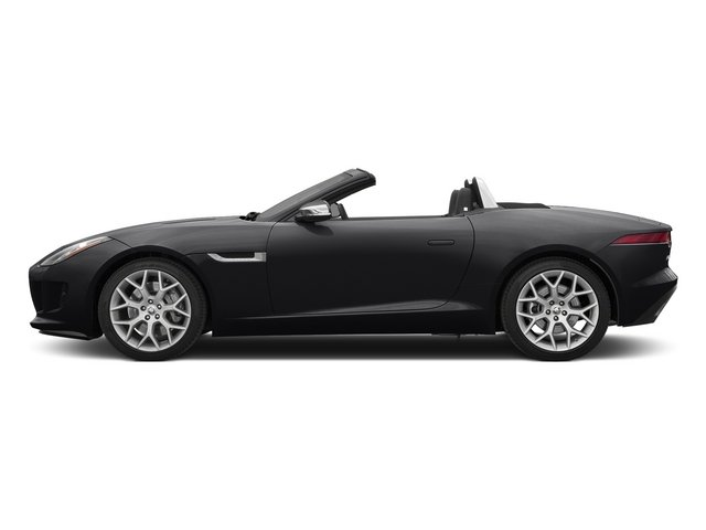 Ebony 2015 Jaguar F-TYPE Pictures F-TYPE Convertible 2D V6 photos side view