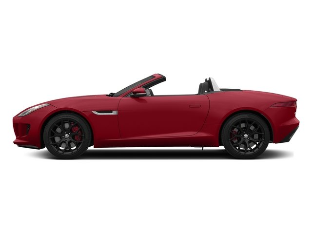 Italian Racing Red 2015 Jaguar F-TYPE Pictures F-TYPE Convertible 2D S V6 photos side view