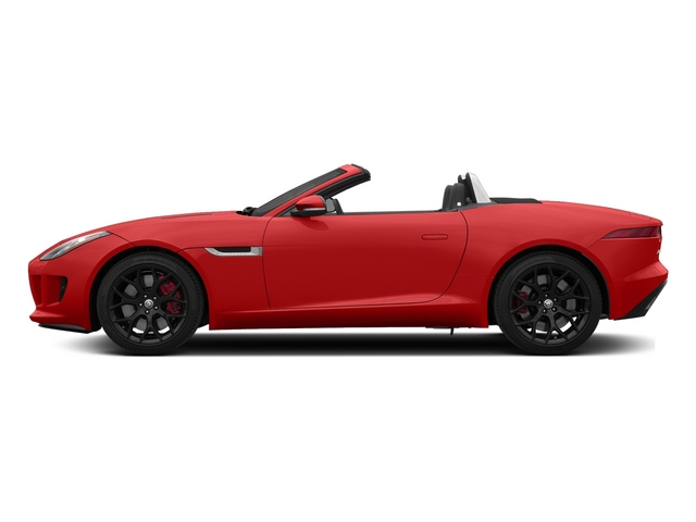 Salsa Red 2015 Jaguar F-TYPE Pictures F-TYPE Convertible 2D S V6 photos side view