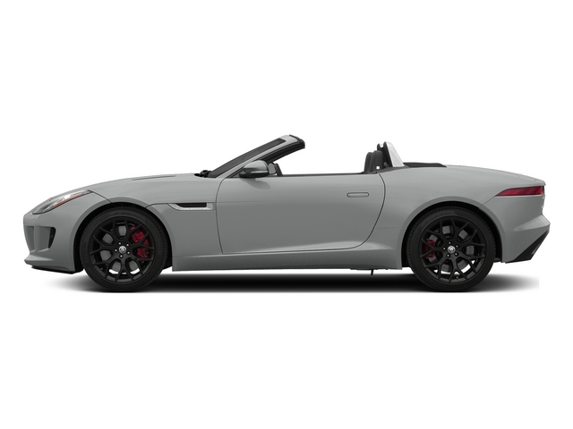 Rhodium Silver Metallic 2015 Jaguar F-TYPE Pictures F-TYPE Convertible 2D S V6 photos side view