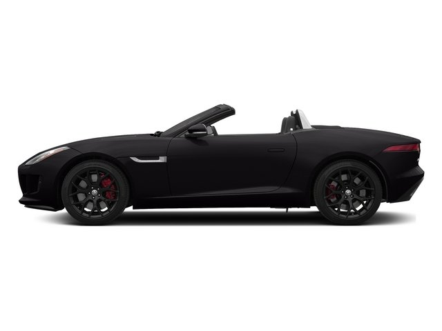 Ultimate Black Metallic 2015 Jaguar F-TYPE Pictures F-TYPE Convertible 2D S V6 photos side view