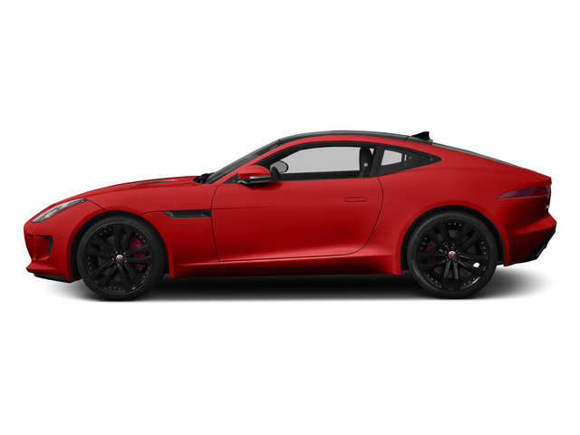 Salsa Red 2015 Jaguar F-TYPE Pictures F-TYPE Coupe 2D S V6 photos side view