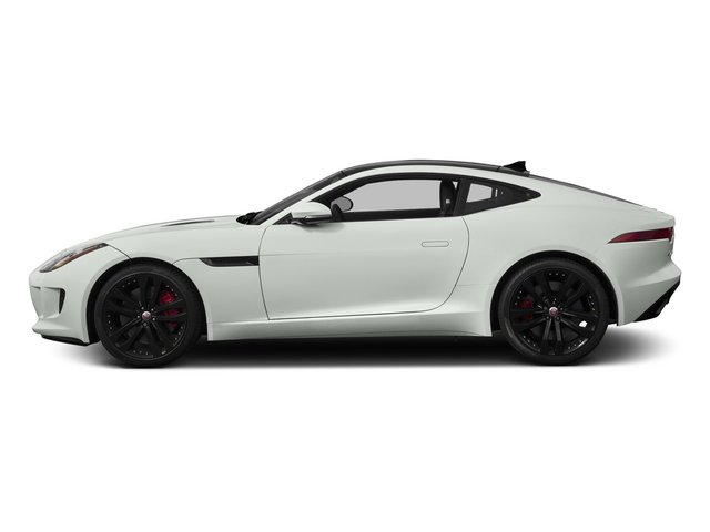 Polaris White 2015 Jaguar F-TYPE Pictures F-TYPE Coupe 2D R V8 photos side view