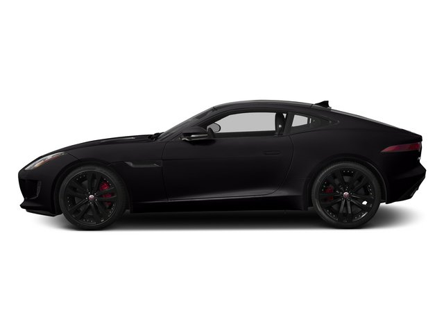 Ultimate Black Metallic 2015 Jaguar F-TYPE Pictures F-TYPE Coupe 2D S V6 photos side view