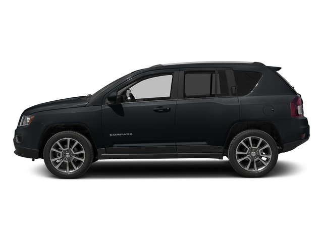 Maximum Steel Metallic Clearcoat 2015 Jeep Compass Pictures Compass Utility 4D High Altitude 2WD photos side view