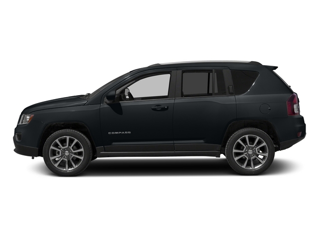 Maximum Steel Metallic Clearcoat 2015 Jeep Compass Pictures Compass Utility 4D Limited 4WD photos side view